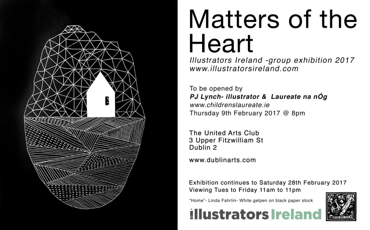 Matters of the heart Exhibition Invite The United Arts Club