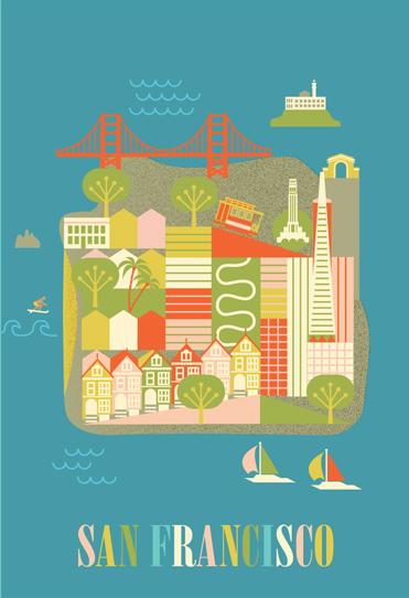 633a225c7a6 San Francisco illustration – ATLANTIC ART STUDIOS