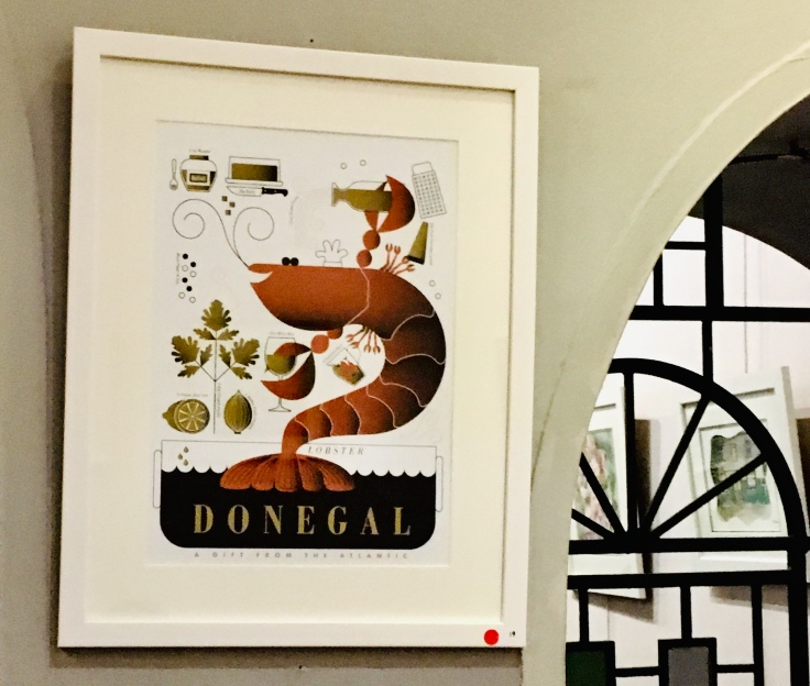 Illustrated Donegal art print