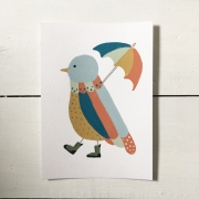 Little Bird Parade - Umbrella Bird
