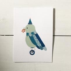 Little Bird Parade - Biker Bird